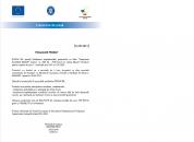 FINALIZARE PROIECT - MASURA 2 – GRANTURI CAPITAL DE LUCRU ROXEMI SRL