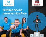 Hostriver devine partener BitNinja și oferă clienților săi soluția de securitate ServerProtection