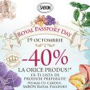 Pe 19 octombrie este Royal Passport Day la SABON
