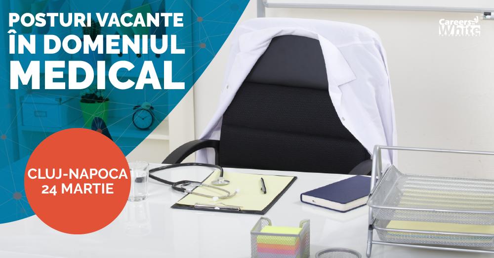 Targ de Joburi pentru Personalul Medical Cluj-Napoca