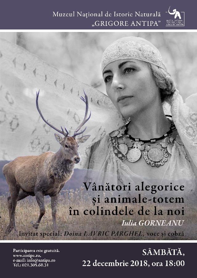 Vânători alegorice și animale-totem în colindele de la noi -povești despre Bătrânul Crăciun și Zeul-An