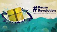 R-CREATE – Singurul ambalaj returnabil pentru industria comerţului online intra in teste la Cărtureşti