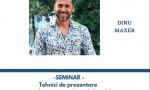 SEMINAR Online Tehnici de prezentare – evenimente mondene si showbiz