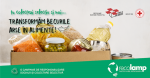 Recolamp transformă deșeurile în energie!   În următoarele 3 luni, becurile arse se transformă în alimente pentru persoanele defavorizate
