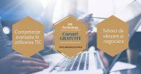 GRATUIT: Cursuri on-line Competente avansate TIC / Tehnici de vânzare si negociere