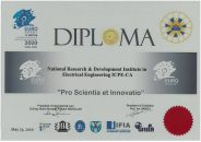 Diplome si medalii obtinute de ICPE-CA la EUROINVENT 2020