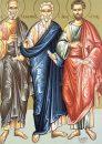 Sfantul Valentin; Sfintii Apostoli Sila, Silvan, Crescent, Epenetos si Andronic; Lasatul secului pentru Postul Adormirii Maicii Domnului