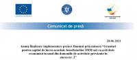 COMUNICAT DE PRESA SC OBADA TRANS SRL 28.06.2021
