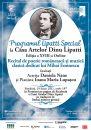 """Programul Lipatti Special la Casa Artelor Dinu Lipatti Ediția a XVIII-a Online dedicată """"poetului nepereche"""" Mihai Eminescu"""