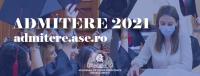 ADMITERE ASE 2021 la programele de studii universitare de LICENȚĂ!