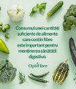 Desfășurat sub îndrumarea Societății de Nutriție din România, un studiu arată că 9 din 10 români nu știu care este cantitatea zilnică recomandată de fibre