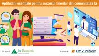 Junior Achievement România, demers educațional adresat dezvoltării aptitudinilor esențiale pentru succesul profesional al tinerilor
