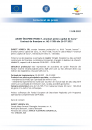 Anunt incepere proiect Granturi pentru capital de lucru Contract M2-11506/26.07.2021 EUREST HORECA SRL