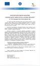 """Anunț privind începerea proiectului """"Granturi pentru capital de lucru acordate IMM-urilor"""" SC Tess Exclusiv RAG International SRL"""