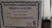 ICPE-CA premiat de Asociatia Generala a Inginerilor din Romania - AGIR