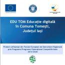 EDU TOM Educație digitală în Comuna Tomești, Județul Iași