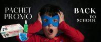 Pachet Promo Protectie Copii la Scoala: Spray Dezinfectant 100 ml + 50 Masti la doar 29.40 lei