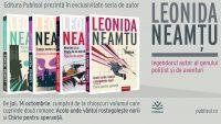 Editura Publisol lansează, în octombrie 2021, seria de autor Leonida Neamțu!
